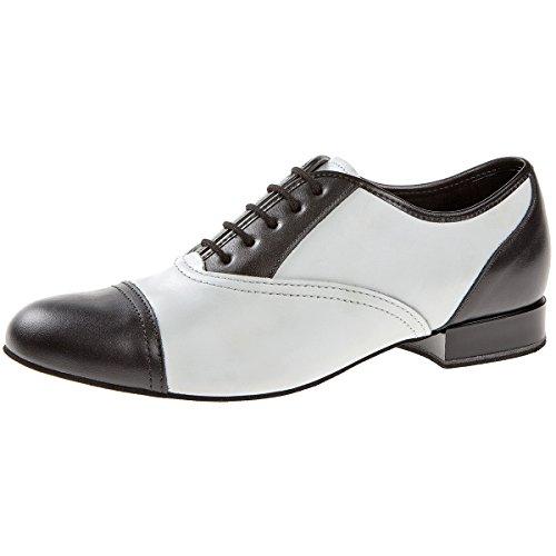 Schwarz de Schwarz 027 Salon Diamant Wei de Chaussures Wei 077 025 Danse Homme 6TqqZBPn