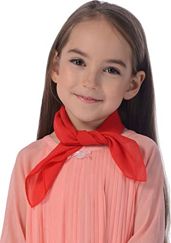 Red Scarf 50s for Kids and Toddler French