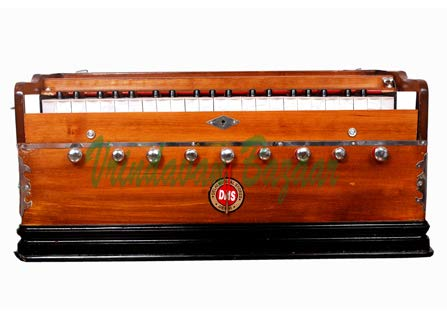Vrindavan Bazaar Premium Scale Changer Harmonium, Best Scale Changer, Concert, 3 Reeds, 9 Scales, 11 Stops, 37 Keys, Coupler Function, Comes with a Bag (Standard Quality) by Vrindavan Bazaar