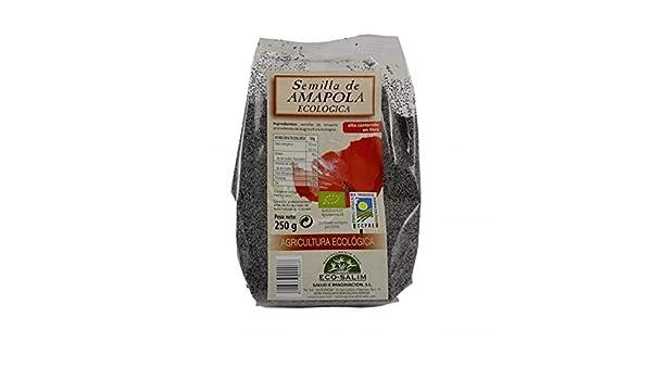 Semilla amapola Eco-Salim, 250 g: Amazon.es: Alimentación y bebidas