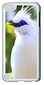 iPod Touch 5 Case,iPod Touch 5 Cases - Beautiful white bird PC Custom Design iPod Touch 5 Case Cover - Polycarbonate¨CWhite