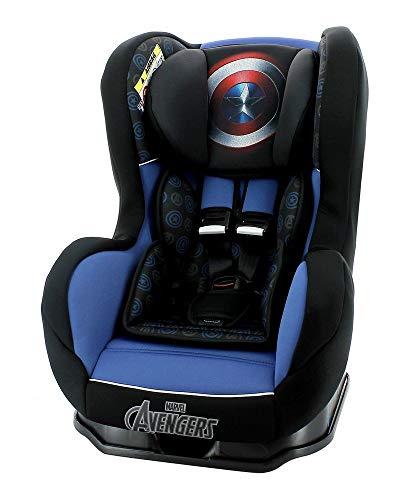 Cadeira para auto Primo Capitão América, Marvel, Azul