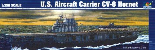 (Trumpeter 1/350 USS Hornet CV8 Aircraft Carrier Model Kit)