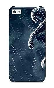Fashion Case Awesome Spider-man Flip case cover With Fashion Design lyyR2yMUCwJ For Iphone 5c