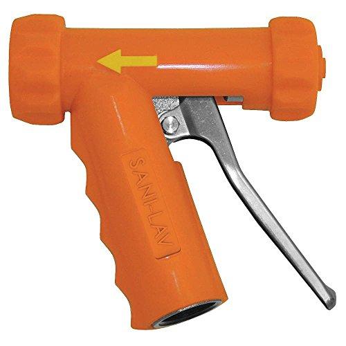 Spray Nozzle, Alum, Brass, SS, Orange