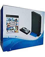 Playstation Design Game Console with 100GB Hard Drive with 50+ Games and 2 Controllers
