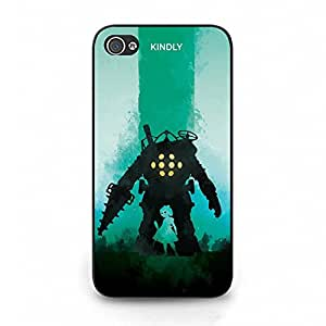 Special Kindly Style RPG Game BioShock Phone Case Cover for Iphone 4 4s 2K Game Fantasy Cover Shell