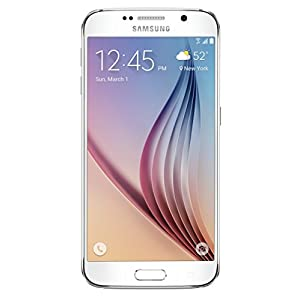 "Samsung GS6 5.1"" Certified Pre-Owned Carrier Locked Phone - 32GB - White (Verizon)"