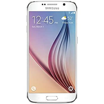 Samsung Galaxy S6 (T-Mobile) Certified Pre-Owned Prepaid Carrier Locked, White