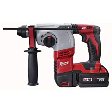 Milwaukee 2605-22 M18 18-Volt Cordless Lithium-Ion 7/8 SDS Plus Rotary Hammer Kit