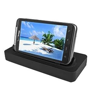 Seidio Desktop Charging Cradle for HTC ThunderBolt - Retail Packaging - Black