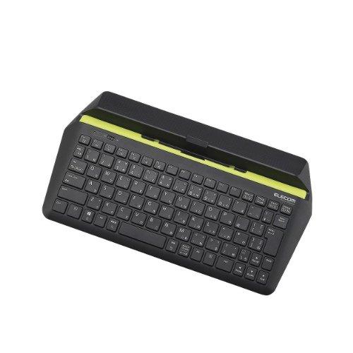 ELECOM キーボード Bluetooth Windows/Androidタブレット対応 パンタグラフ ブラック TK-FBP067BK