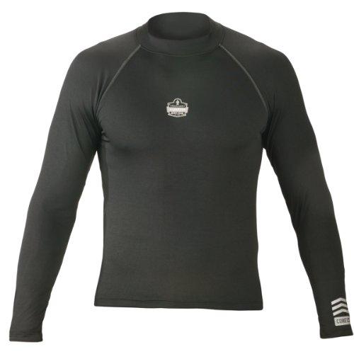 Ergodyne N-Ferno 6435 Thermal Long Sleeve Shirt, Black,