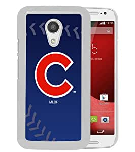 Hot Sale Motorola Moto G 2nd Generation Case ,Chicago Cubs White Motorola Moto G 2nd Cover Unique And High Quality Designed Phone Case