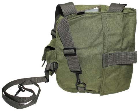 US SCHUTZMASKENTASCHE Army Umhängetasche Schultertasche Militär Tasche oliv