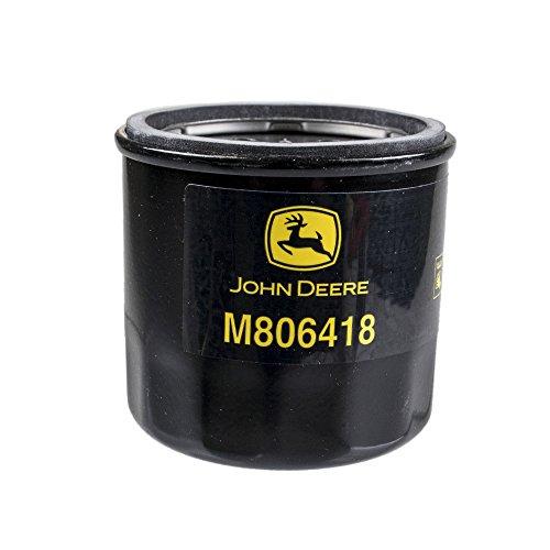 M806418 John Deere Oil Filter 1023E, 1025R, 1026R, 2210, 4010,755, HPX-DIESEL GATOR,455 LAWN MOWER, X495, X740, X748, and 1435 FRONT MOWER. (John Deere 4010 Diesel)