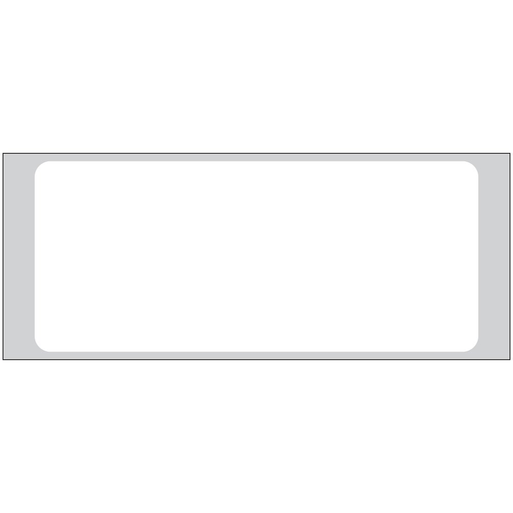 PDC Healthcare ADLR-11232 Paper General Purpose Admission Label, Smudgeproof Litho/Removable, 3.5'' Width x 1.5'' Length, 4'' Carrier Width, 1'' Core Size, White (Roll of 1000)
