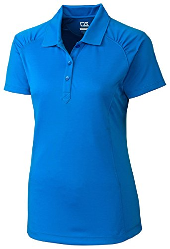 Cutter And Buck Women's Self Fabric Collar Golf Shirt, Digital, XXXX-Large