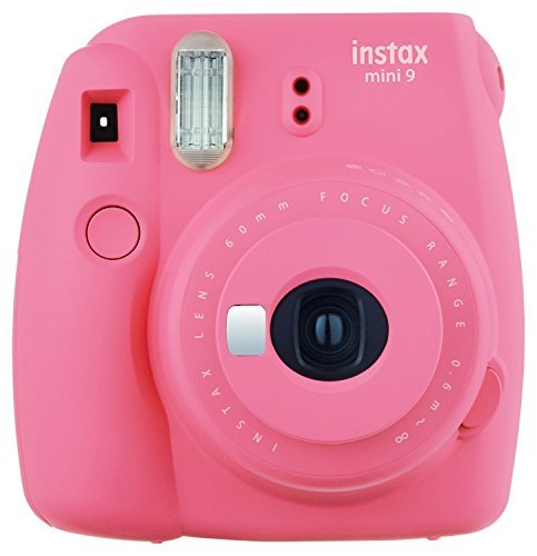 - Fujifilm Instax Mini 9 Instant Camera - Flamingo Pink (Renewed)