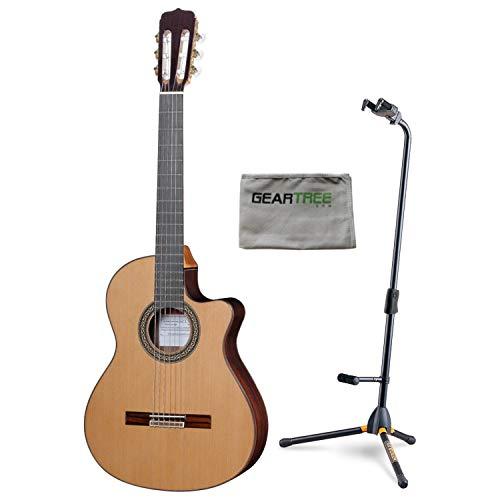 Jose Ramirez Cut 1 Classical Guitar w/Case, Cloth, and Hercules Stand