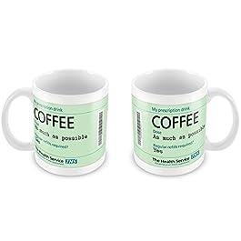 Prescription Coffee Mug Funny Gift Idea Secret Santa Office Hospital 140