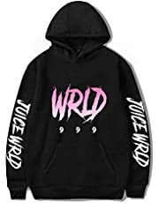 Flyself Unisex Juice Wrld Hoodie Sweatshirt Rapper Hip Hop Casual Pullover Sweatshirt Tops for Men Women Teen