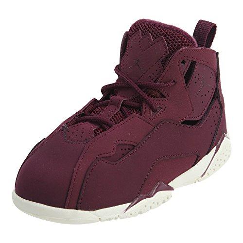 Jordan True Flight BT Toddlers Shoes Bordeaux/Bordeaux/Sail 343797-625 (6 M US)