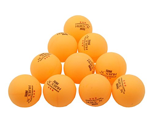 Ben sports 100 pack 100 counts orange balls 3 star 40mm for 100 table tennis balls