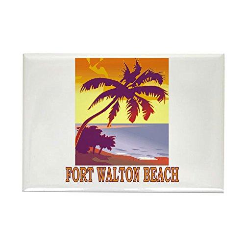 CafePress Fort Walton Beach, Florida Rectangle Magnet Rectangle