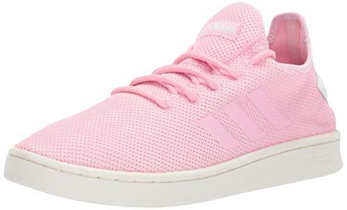 adidas Women's Court Adapt, True Pink/White, 7.5 M US