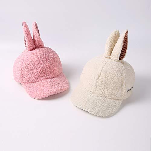 Doitsa niño Sombrero Otoño Invierno Cálido Gorro de Lana Forma de Orejas de Conejo  Mignons para niño niña 4 - 8 años 0348a4f76c4
