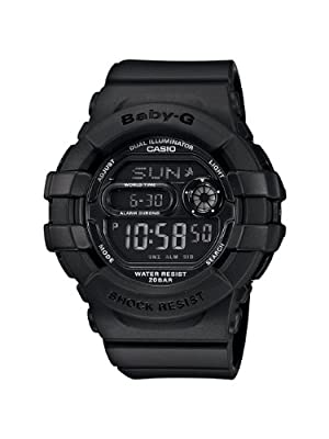 Casio Women's BGD140-1ACR Baby-G Shock-Resistant Multi-Function Digital Watch by Casio