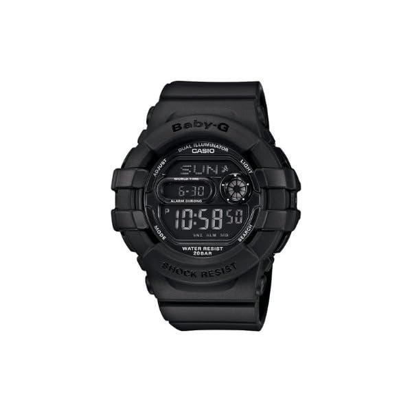 41ILNOdOeuL. SS600  - Casio Women's BGD140-1ACR Baby-G Shock-Resistant Multi-Function Digital Watch