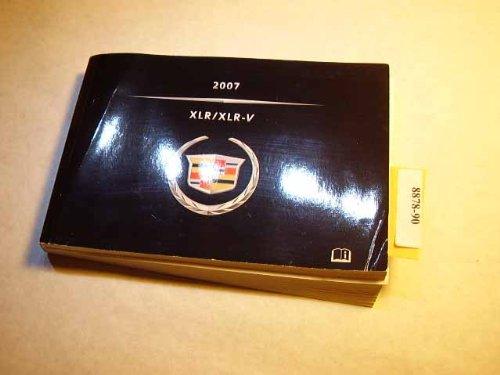 2007 Cadillac XLR XLR-V Owners Manual