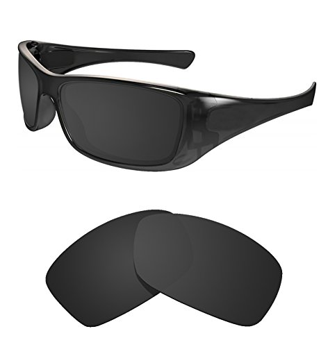 Littlebird4 1.5mm Replacement Sunglasses Lenses Compatible with Oakley Hijinx, Polarized with UV ()