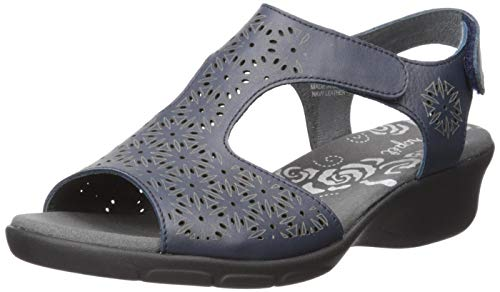 (Propet Women's Winnie Sandal, Navy, 9.5 2E US)