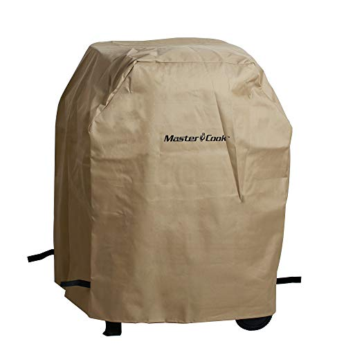 """MASTER COOK BBQ Grill Cover 3 Burners Gas Grill Rain Cover L28"""" x W24""""x H42"""