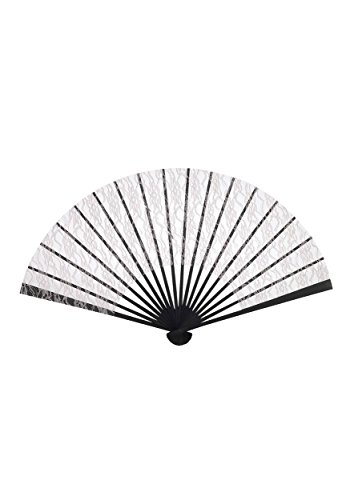 Forum Novelties Roaring 20s Lace Fan, Beige, Standard