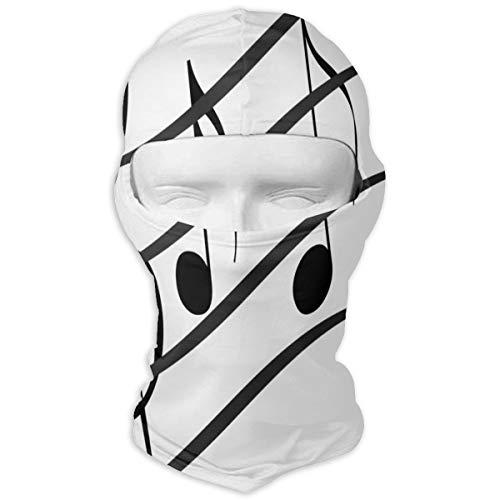 Price comparison product image Balaclava LIVE MUSIC Full Face Masks Ski Motorcycle Neck Hood