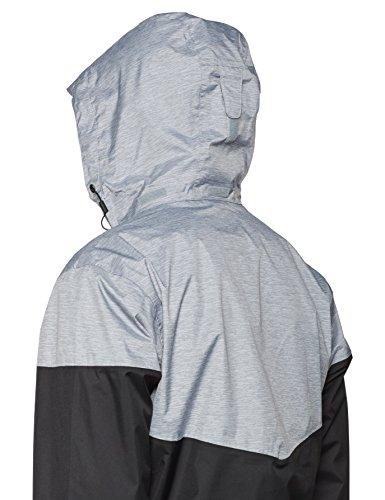 Nero Grau Inner Impermeabile Da Columbia schwarz Ash Limits Waterproof grey Giacca Uomo fSwz50x