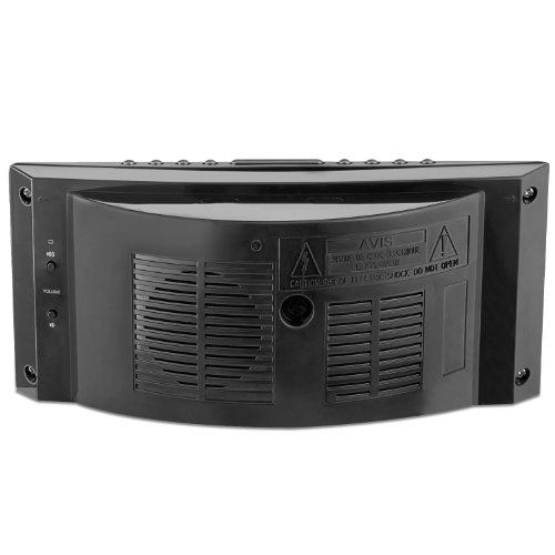 Electrohome 1.8 inch Jumbo LED Alarm Clock Radio with Battery Backup, Auto Time Set, Digital AM/FM Radio & Dual Alarm (EAAC302)