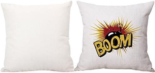 Amazon.com: wgg Funda de cojín, 1 pieza, Serie Explosiva ...
