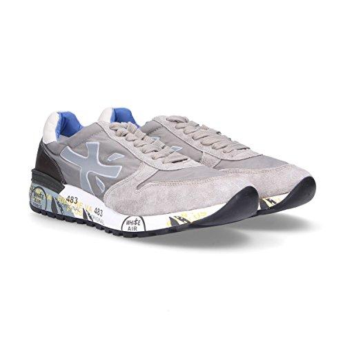 PREMIATA Sneakers Uomo MICK2824 Camoscio Grigio