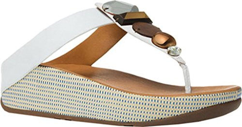 FitFlop™ Jeweley™ Toe Post - Urban White 3 UK Urban White