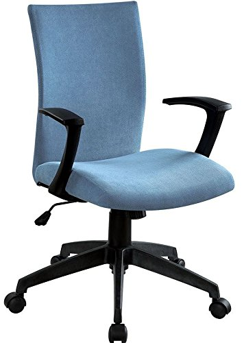 Furniture of America CM-FC635BL Crofter Blue Chairs - Home Office Desks