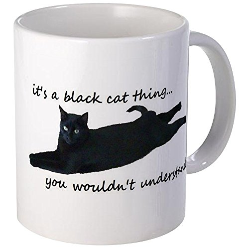 Black Cat Things Mug