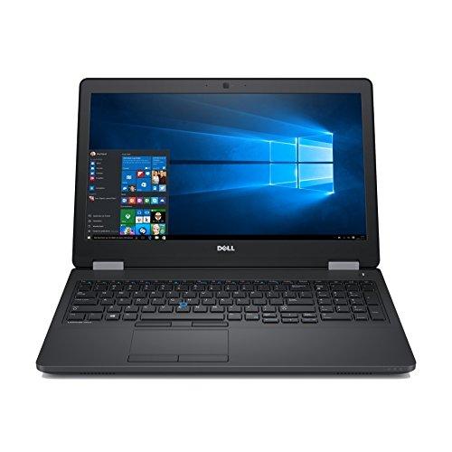 Dell Latitude E5570 Intel Core i5-6300U X2 2.4GHz 8GB 256GB SSD 15.6'' Win10,Black
