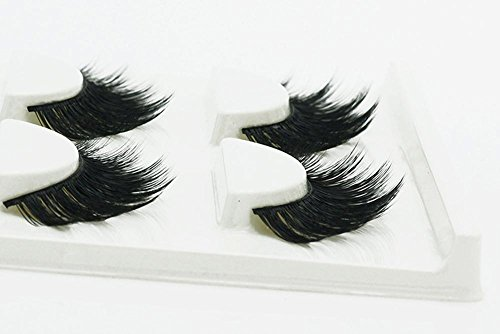 3 PCS Naturel incroyable 3D stéréo multicouche faux cils pur artisanal cils (3 paires) 3D-37