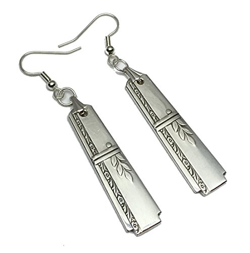 (Spoon Earrings 1938 Grenoble By Oneida Heirloom Prestige Plate Silverplate )