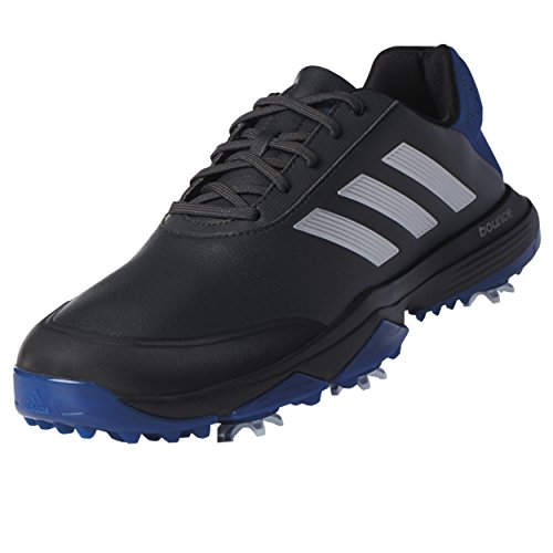 adidas Men's Adipower Bounce Carbon/SI Golf Shoe, Black, 10 M US